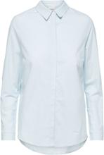 SELECTED Organic Cotton - Shirt Women Blue; Pastel