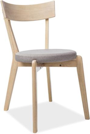 Krzesło Kansas 3 (dąb miodowy/szary)