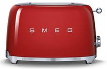 Brödrost 50's Retro Style, 2 skivor, röd