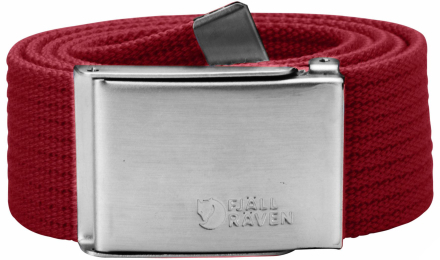 Canvas Belt 4 cm Deep Red