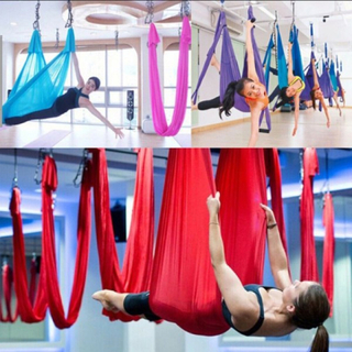 Yoga Swing Hammock Trapeze Sling Aerial Silk Set Anti-gravitation I
