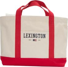 Lexington - Pacific Tote Bag, White/Red