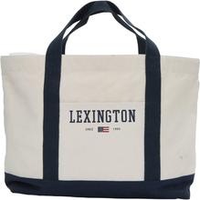 Lexington - Pacific Tote Bag, White/Blue