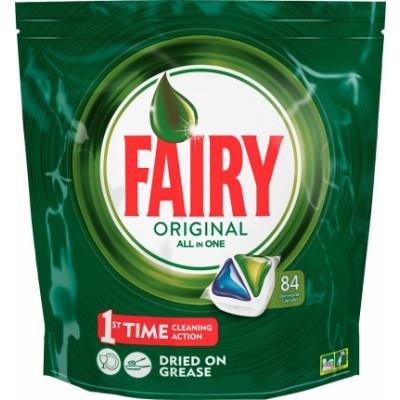 Fairy Original All In One Dishwasher Tabs 84 stk