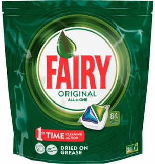Fairy Original All In One Dishwasher Tabs 84 stk