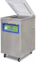 vidaXL Professionell vakuumförpackare rostfritt stål med hjul 750 W