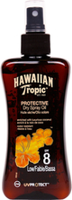 Köp Hawaiian Tropic Protective Dry Spray Oil, SPF 8, 200ml Hawaiian Tropic Solskydd fraktfritt
