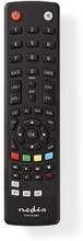 Universal fjernbetjening | Forprogrammeret | Antal enheder: 1 | Hukommelses knapper / TV guide knap