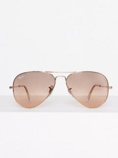 Ray Ban 0RB3025 Solglasögon Rosa/Guld