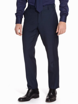 Selected Homme One Mylo Ros4 Navy Trousers Housut Navy Blazer