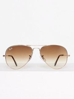 Ray Ban 0RB3025 Solglasögon Brun/Guld