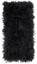 Shansi lammskinnstavla Black 120x60 cm