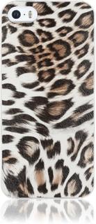 iDeal Of Sweden iPhone SE 5S 5 Marmor skal - leopardmönstrat