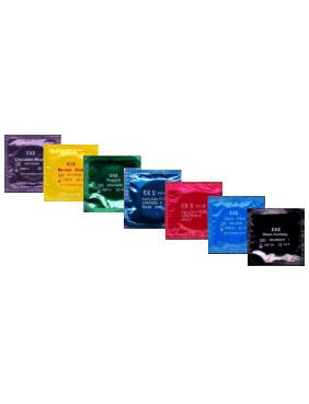 12 stk. EXS - Flavour mix kondomer
