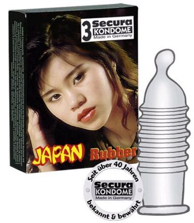 24 stk. Secura - Japan Rubber Kondomer