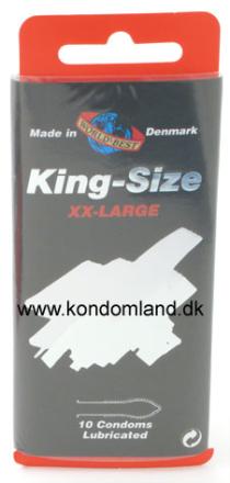10 stk. WORLDS BEST - King-Size kondomer