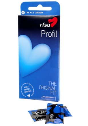10 stk. RFSU Profil Kondomer