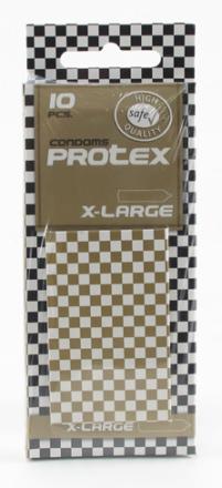 10 stk. Protex - X-Large Kondomer