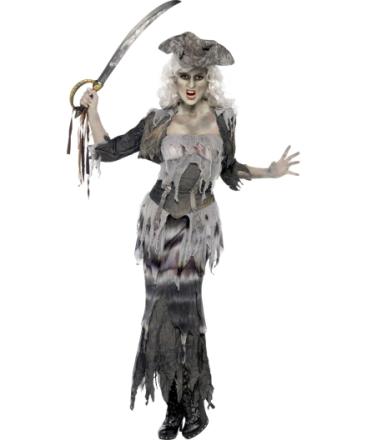 Kostume spøgelsespirat voksen halloween - Vegaoo.dk