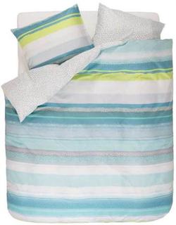 Esprit Sengesæt - 140x200 cm - Esprit Dana blue sengetøj