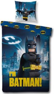 LEGO Batman sengetøj - 150x210 cm - 100% bomuld