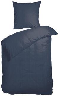 Sengetøj - Nordisk Tekstil - 140x200 cm - 100% Bomuldssatin - Niro blå