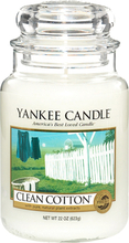 Clean Cotton, 623g Yankee Candle Doftljus