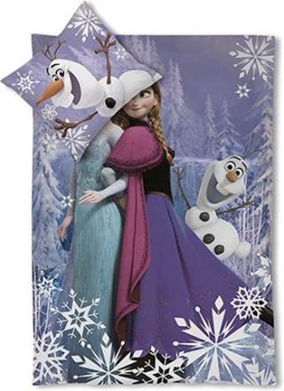 Disney Frozen junior sengetøj - 100x140cm - 100% bomuld - Home-tex