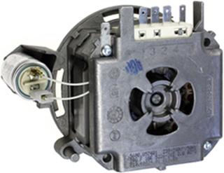 Pumpmotormotor Till Diskmaskin - Bosch Siemens Original