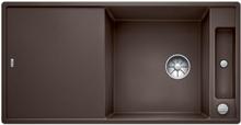Blanco Axia XL 6 S MXI Køkkenvask 100x51 cm m/InFino kurveventil, Silgranit, Kaffe
