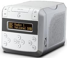 Roberts Sound 48 klockradio med CD.Vit