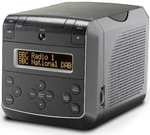 Roberts Sound 48 klockradio med CD. Svart