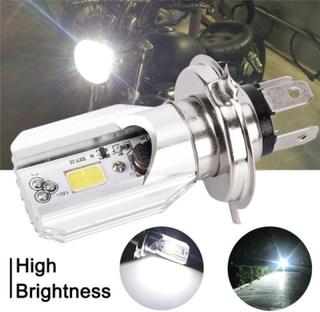 Super Bright.headlight Bulb Led Motorcycle 1x H4 Ba20d Dc 12v
