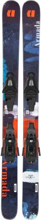 ARMADA Bantam + C5 Slalomskidor Blå 120