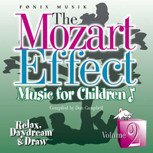 Mozart for Children vol. 2 - Mozart effekten - Fønix Musik