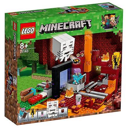 LEGO Minecraft 21143 Neder portalen - Fruugo