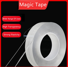 Home Improvement Double Sided Tape Nano Transparent No Trace Acrylic Magic Tape Reuse Waterproof 3m Adhesive Tape Cleanable
