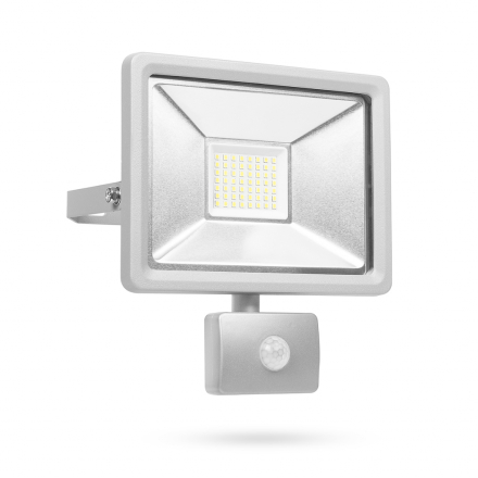 Smartwares LED-sikkerhedslys med sensor 30 W grå SL1-DOB30