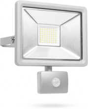 Smartwares LED sikkerhedslys med sensor 30 W grå SL1-DOB30