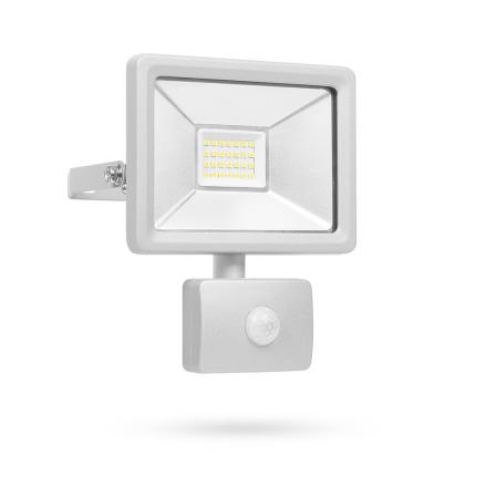Smartwares LED sikkerhedslys med sensor 20 W grå SL1-DOB20