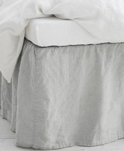Studio Total Home Sängkappa Washed Linen Bedvalance Natur