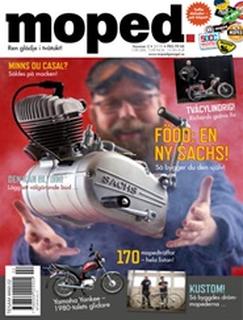 Tidningen Moped 4 nummer