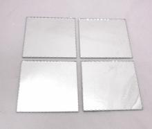 Facettslipad spegel 4-pack