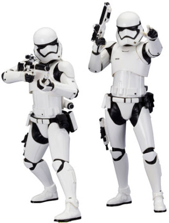 Star Wars - First Order Stormtrooper 2-pack - Artfx+