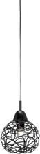 Excel fönsterlampa - Svart krom