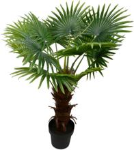 Konstväxt - Palmträd 100 cm