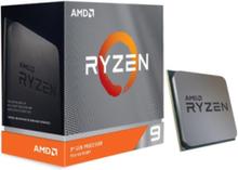Ryzen 9 3900XT CPU - 12 kerner 3.8 GHz - AM4 - Boxed (WOF - uden køler)