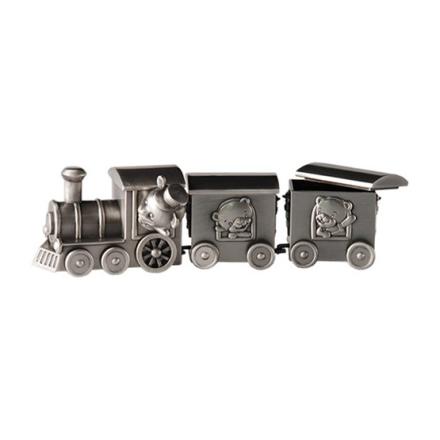 Dacapo Silver - Tåg Med 2 Vagnar För Tand&Lock