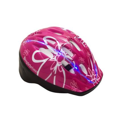Brighthelmet Cykelhjälm - Rosy Green (Grönt Spänne)