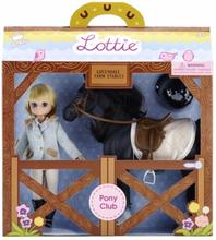 Lottie - Docka - Pony Club